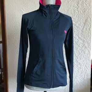 Wilson women's navy blue track jacket